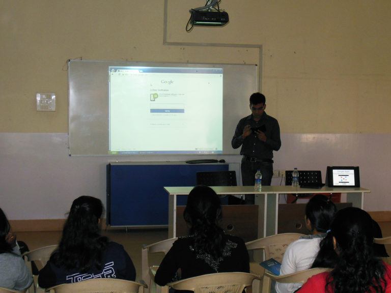 Shashank Educate to students