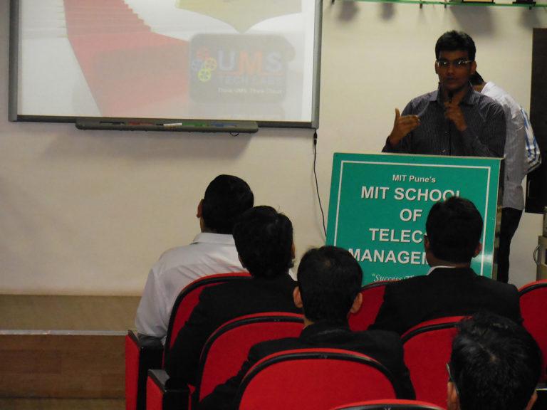 Shashank in MIT Pune
