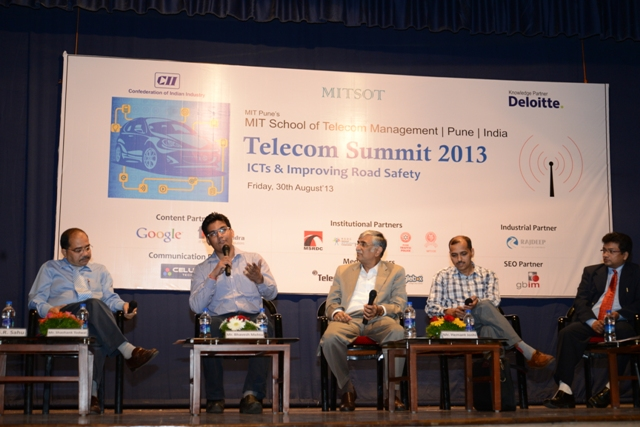 Shashank with Telecom Summit 2013