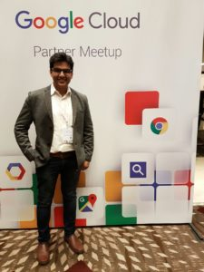 Nashik's Shashank Todwal (UMS) at Google Cloud Partner