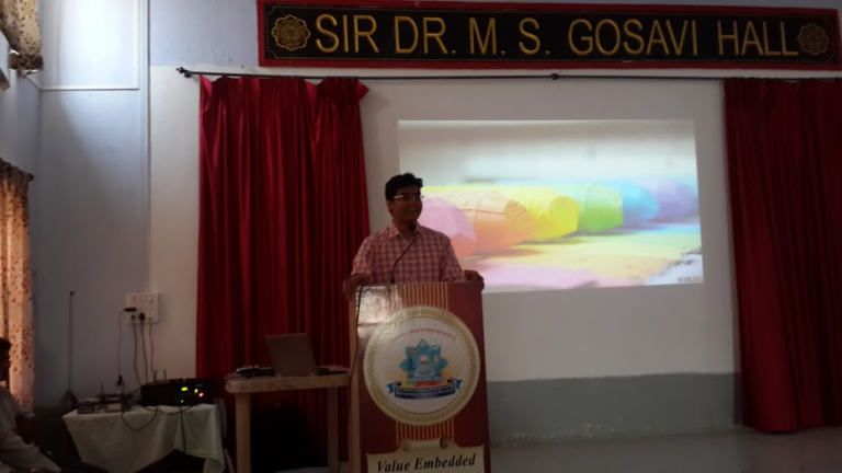 Shashank as guest lecture