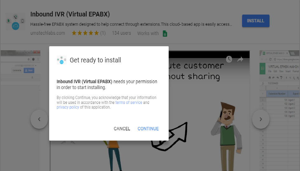 Virtual EPABX ready to install