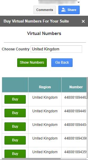 Buy Virtual Numbers