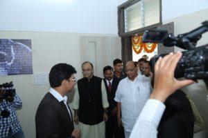Shashank With Sharad Pawar