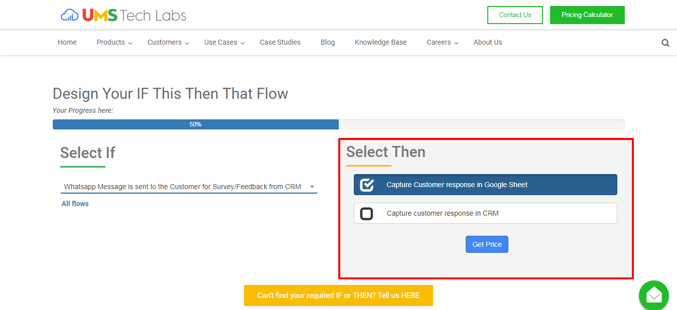 How to use the Pricing Calculator? - UMS Tech Labs
