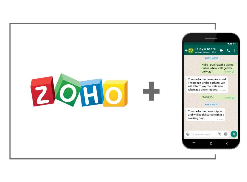 Zoho-WhatsApp Integration